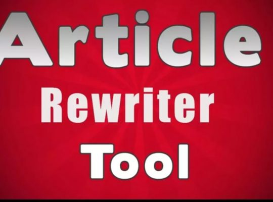 The Most Important Elements Of Rewriter Tool